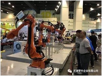 羅升經銷的現代機器人