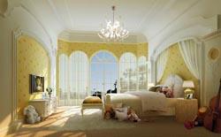 主卧室设计案例图-成都家装设计公司半包装修