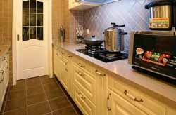 成都装修网家装厨房设计案例作品