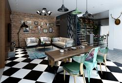 成都家装设计装修公司-家装客厅主题墙设计