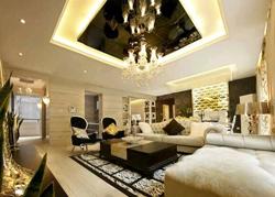 客厅电路设计-成都家居装修公司二手房装修案例图