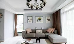 客厅照明设计-成都家装公司家装设计图片