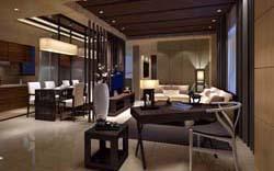四川成都酒店装修装饰设计案例-成都公装公司