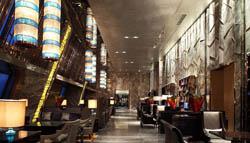 成都高端餐饮酒店装修设计案例-工装网