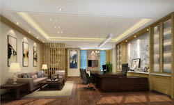 总经理办公室空间设计案例参数图 店面 服装店装修