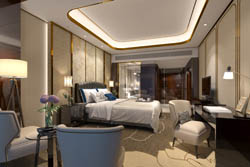 成都高端酒店装修设计案例-工装公司