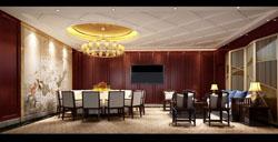 四川成都美食广场美食餐厅装修设计案例作品