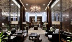 成都现代风格售楼部装修案例作品-工装设计装饰