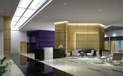 成都办公楼整体装修设计案例作品-工装公司