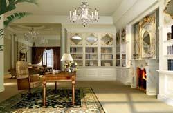 成都别墅装饰设计效果图--天鹅湖案例