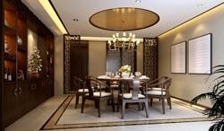 成都别墅装修效果图设计-温江恒大城案例