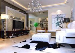成都家居装修设计效果图观澜东山案例