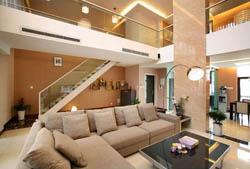 别墅装修灯光设计-成都别墅装修公司图片案例