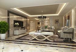 麓山国际现代风格别墅装修案例-成都装饰网