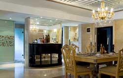成都龙城一号欧式风格别墅装修案例