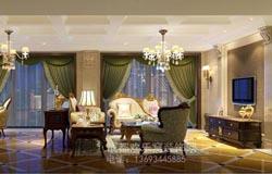 欧式风格别墅装修设计案例作品