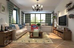 家装美式乡村风格室内装饰装修设计