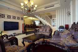 成都欧式风格家装设计案例作品-室内装饰装修
