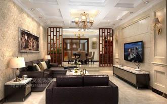 客厅装修效果图-成都高新区设计师作品