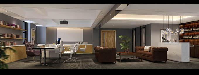 办公室空间设计组成部分图片参考