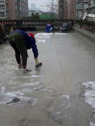 成都专业防水工人施工案例图