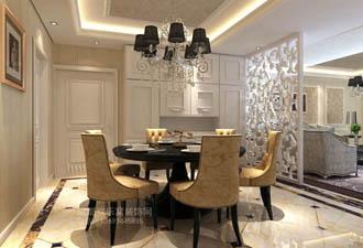 麓山国际别墅室内装饰设计装修案例参考图