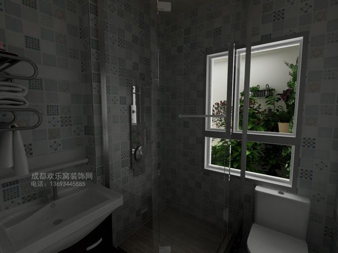 卫生间装修风水禁忌图片案例-成都家装公司-欢乐窝装饰网