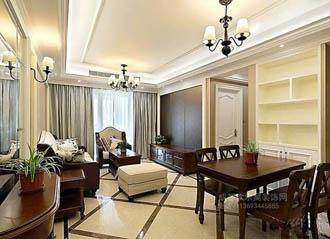家装客厅装饰装修效果-华阳工长欧帆