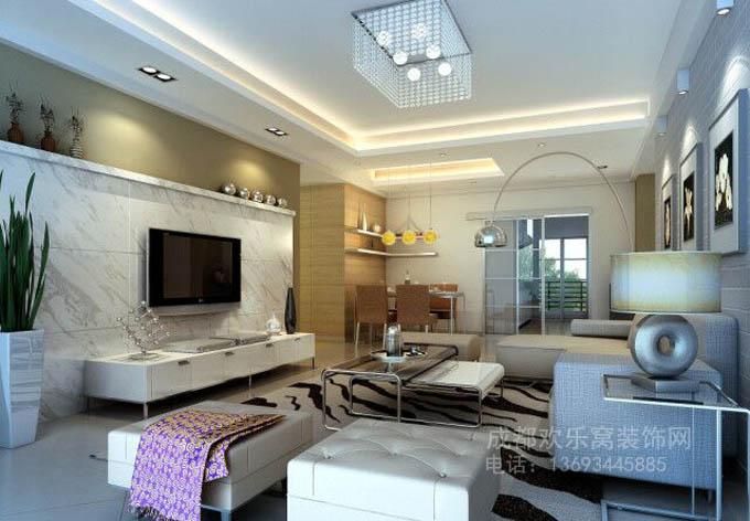 成都现代风格家庭装修案例参考图