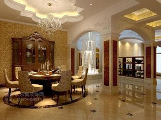 别墅餐厅装修设计效果图案例