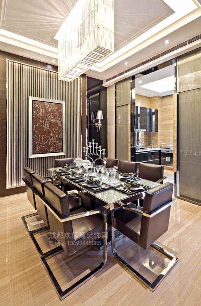 家装餐厅设计作品案例图片