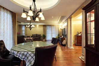 室内客厅设计装修案例-成华区设计师案例