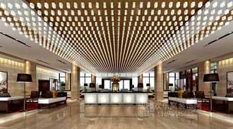 酒店大堂装修装饰案例-金艺廊