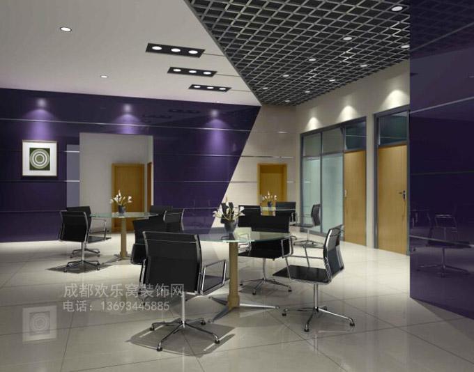 成都办公室会议室装修设计方案参考图片
