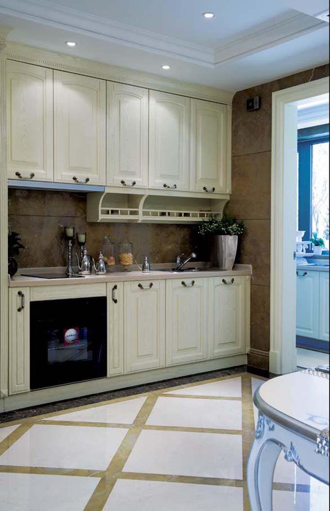 成都装修网家装厨房设计案例作品1