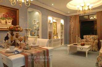 欧式风格客厅装修效果图案例
