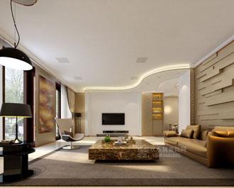 南门现代风格家庭装修设计案例
