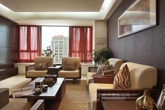 新中式风格室内设计案例-余苛阳作品
