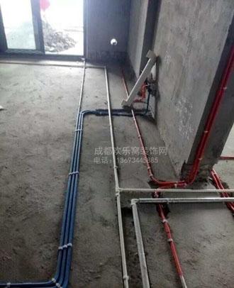 新都业主水电改造-水电工人陈伦根