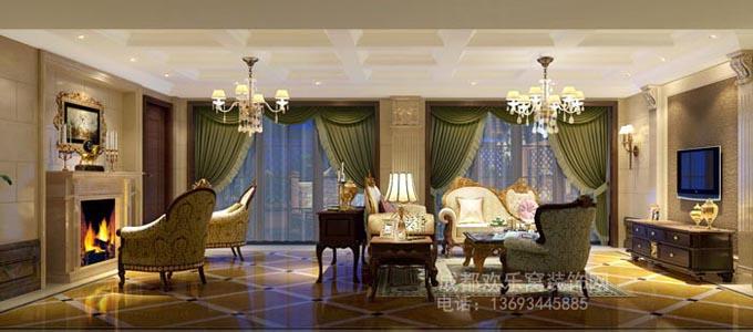 成都欧式风格家装设计作品案例