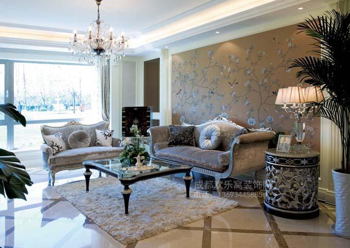 成都新古典风格家居装饰工程案例图片
