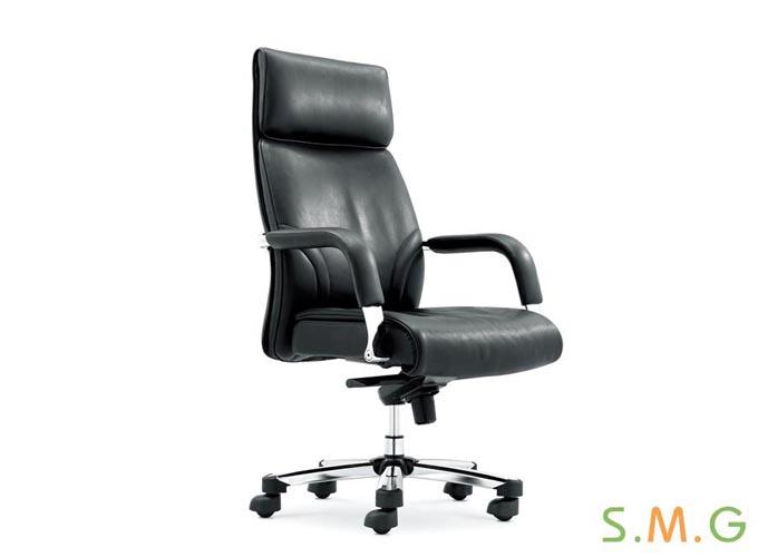 办公室高级真皮会议椅定制图片