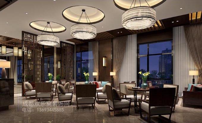 设计公司工装售楼部方案参考图片