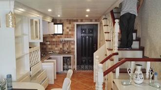 室内客厅装修效果案例-成华区设计师作品