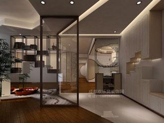 成都南门客户新中式风格家庭装修