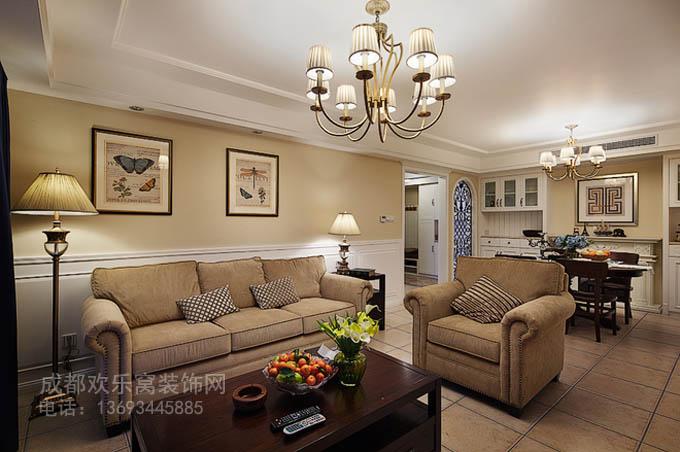 欧式风格家庭装修案例图片