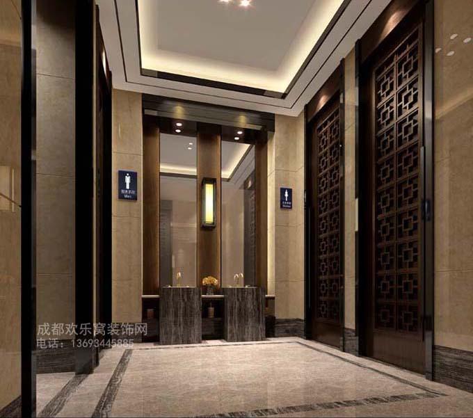 成都工装售楼部设计方案参考图片