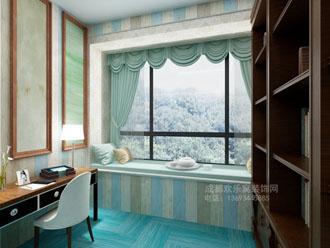 地中海风格书房室内设计案例