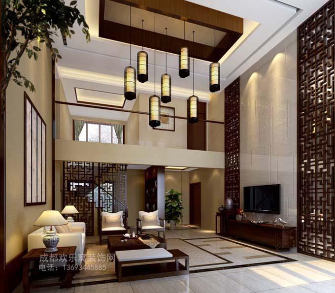成都中式风格家装设计作品案例