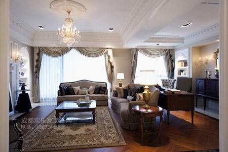别墅装修功能分区设计_成都别墅装饰公司图片案例